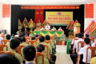 Đại hội Đảng bộ Ban Quản lý VQG Phong Nha - Kẻ Bàng lần thứ VIII, nhiệm kỳ 2020-2025